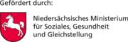 Gefördert durch Niedersächsisches Ministerium für Soziales, Gesundheit und Gleichstellung©Bundesland Niedersachsen
